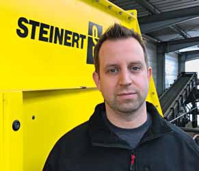 Dr. Nico Schmalbein, Head of Technology at STEINERT