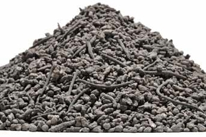 Incineration bottom ash 0–8 mm output