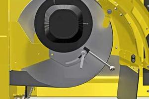 Millimetergenau einstellbarer Scheitel und stufenlos verstellbare Poltrommel<br />