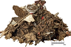&nbsp;DHZ feed material: shredder residue<br />