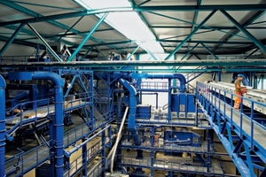 The BHS delivery scope comprised all components for two entire processing lines: from fedding systems and machine technology through to the big bag loading station<br />