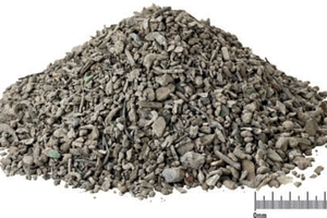 DHZ feed material: non-ferrous metal fractions sized 0–3 mm<br />
