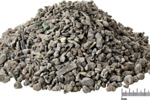 DHZ feed material: non-ferrous metal fractions sized 3–12 mm<br />