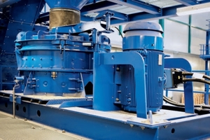 For the fine processing of non-ferrous metals in incinerator bottom ash the two BHS rotor impact mills of type RPMV 1113 and RPMX 1516 are central components of the plant<br />