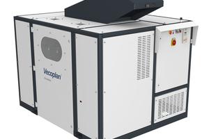 """<div class=""""bildtext"""">Der leistungsstarke VDS 800 von Vecoplan zerkleinert Akten- und Datenträger nach den entsprechenden Sicherheitsanforderungen</div>"""