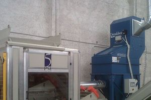 "<div class=""bildtext_eng"">PowerCore® CPC6 dust collector used in glass recycling</div>"