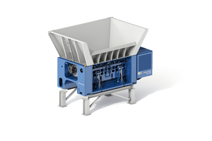 "<div class=""bildtext_eng"">TEUTON ZS 55 currently ranks among the most versatile stationary shredders on the market, offering a great range of applications thanks to its unique screening basket system</div>"