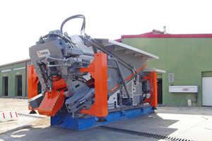 """<div class=""""bildtext_eng""""><irspacing style=""""letter-spacing: -0.02em;"""">The new, compact N series as a smaller series from Metso complets the shredder line on heavy Metso Lindemann shredders</irspacing></div>"""
