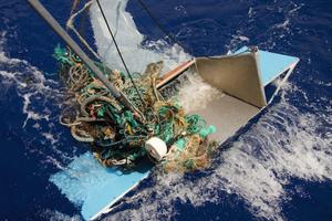 5 Plastic waste in the sea