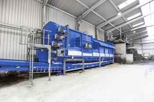 "<div class=""bildtext_eng"">The BRT HARTNER DM Digestate Mixer is an aggregate that is used upstream from the composting unit for the optimal production of mixes from digestate and structuring materials</div>"