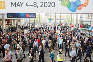 New record: The  Munich IFAT welcomed 141 000 visitors and  3305 exhibitors