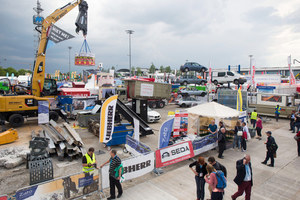 Various live demonstrations turned the open-air ground into a showroom