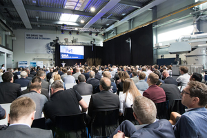 "<div class=""bildtext_eng"">With over 1000 participants from 54 countries EREMA had a record number of visitors at this year´s Discovery Days. EREMA invited guests to join in the discussion of how the amount of recycled material and the recyclability of end-product made of plastic can be increased</div>"