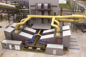 Example of an application for four Samson® Material Feeders conveying alternative fuels in a power plant in Poland