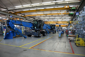 Terex Fuchs assembly line