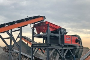 The recently developed conveyor feed increases the non-ferrous output and yield of eddy current separators used for processing incinerator bottom ash (IBA), RDF, ASR and more