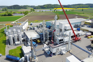 """<div class=""""bildtext"""">Richard Geiss GmbH has invested nearly 2&nbsp;million&nbsp;€ in the latest expansion phase of its fractionating columns in Offingen</div>"""
