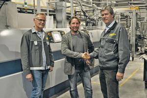 "<div class=""bildtext_en"">Long-term cooperation: Starlinger and PET to PET - (from left) Gerhard Kammer (PET to PET), Christian Lovranich (Starlinger), Christian Strasser (PET to PET)</div>"