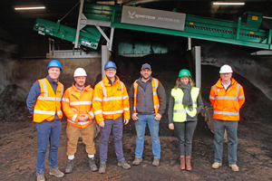 "<div class=""bildtext_en"">In good cooperation the new composting line was built: from left Cameron Lewis, General Manager, The Woodhorn Group; Martyn Dewey, Area Sales Manager, Hanlon-Komptech Great Britain, Morgan Davies, Waste Recycling Manager, The Woodhorn Group; Raimonds Mamonovs, Tangmere Site Operations Manager, The Woodhorn Group; Linda Dirickx, Area Sales Manager, Komptech; Tommy Flinn, Area Sales Manager Hanlon-Komptech Great Britain </div>"