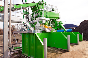 "<div class=""bildtext"">CDEnviro HYDRO:GRADE material recovery screen uses recycled water</div>"