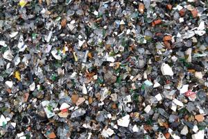 """<div class=""""bildtext"""">Waste glass after processing</div>"""