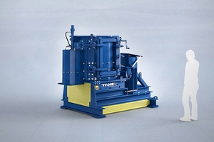 """<div class=""""bildtext_en"""">The TQZ1200 turbo-crusher can be used to smash items like electronic waste, refrigerators or washing machines into their components, or to separate material composites</div>"""