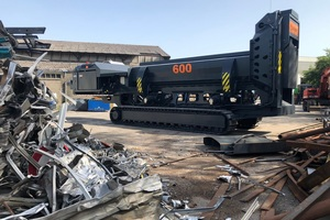 """<div class=""""bildtext_en"""">The Trax 600 tracked scrap shears offers flexible logistics in modern scrap yards. Lefort will present its mobile scrap shears at RecyclingAKTIV in Karlsruhe</div>"""