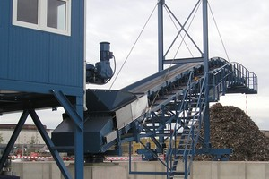 """<div class=""""bildtext_en"""">Result of the shredding process: FE fraction, ready for sale to steelworks</div>"""