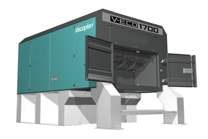 "<div class=""bildtext_en"">With the V-ECO, Vecoplan already possesses the market's best plastic film shredder – the new VIZ will also reliably shred other, even more demanding, plastic materials</div>"