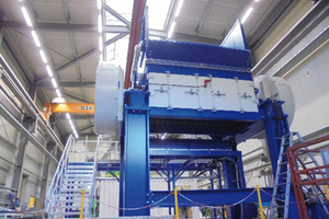 "<div class=""bildtext_en"">Pre-Shredder XL3000 at THM`s assembly facility</div>"
