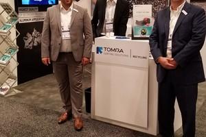"<div class=""bildtext_en"">At the TOMRA stand at Aluminium USA (f.l.): Frank van de Winkel, Matthias Winkler, Eric Thurston</div>"