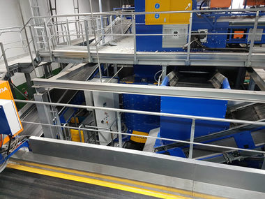The STADLER Delabeler has been tested in different recycling plants enables