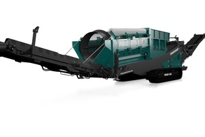 "<div class=""bildtext_en"">Track-mounted version of the Powerscreen Phoenix 1600 </div><div class=""bildtext_en"">trommel screen</div>"