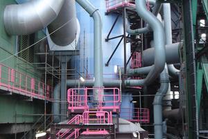 """<div class=""""bildtext"""">INBA-Granulieranlage bei ThyssenKrupp in Hamborn </div>"""