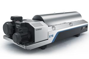 "<div class=""bildtext_en"">Flottweg has developed a unique centrifuge concept specifically designed for the high-efficiency dewatering of sewage sludge: The Flottweg Xelletor Series</div>"
