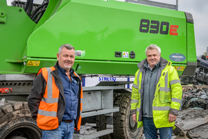 "<div class=""bildtext_en"">Strong partnership through good service: SYNETIQ Operations Director Ray Curry with Molson Green Sales Manager Dave Peacock (from left) </div>"