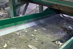 """<div class=""""bildtext_en"""">3 Example for PU belts used in a recycling plant</div>"""