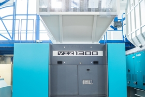 """<div class=""""bildtext_en"""">The new VIZ from Vecoplan can reliably shred a wide variety of plastic materials</div>"""