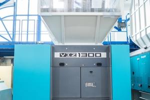 """<div class=""""bildtext"""">Der neue VIZ von Vecoplan kann vielfältigste Kunststoffmaterialien zuverlässig zerkleinern</div>"""