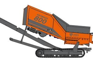 """<div class=""""bildtext_en"""">The newly developed EKOMAXX800 double-shaft shredder</div>"""