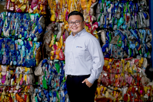 """<div class=""""bildtext_en"""">1 Director Wilson Pandhika is heading the Pan Era Processing Division, which is among the leading recycling companies in </div><div class=""""bildtext_en"""">South-East Asia</div>"""