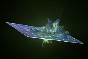 """<div class=""""bildtext"""">Demonstration einer hochwertigen Photovoltaik-Rückgewinnungs-Wertschöpfungskette in Europa</div>"""