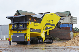 """<div class=""""bildtext_en"""">The 200<sup>th</sup> machine of the type TITAN 950 was put into operation at Zeller Recycling GmbH&nbsp;</div>"""